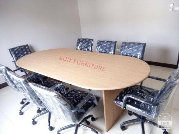 โต๊ะประชุม ขนาด 1.20 X2.40X75 CM